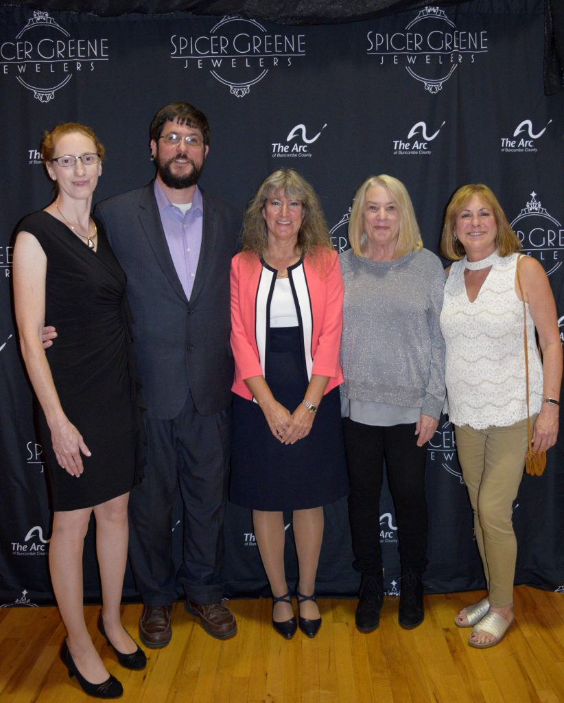 Spicer Greene Jewelers were Event Sponsors of The ARC of Buncombe County's 60th Anniversary