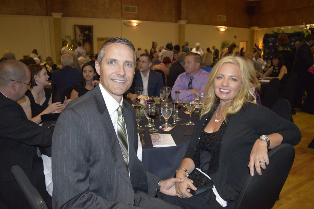 JPS Shareholder & VP of Taxation Services, Rollin Groseclose, and wife, Gina, attend The ARC's 60th Anniversary Celebration ~ JPS was a Friend Sponsor of the evening