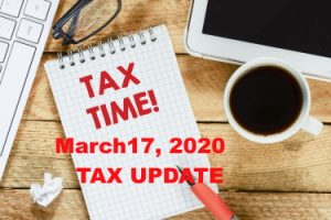 IRS tax payment extension Announced March 17 2020 due to Coronavirus