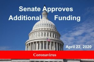 Senate Approves Additional Small Business and Healthcare Funding
