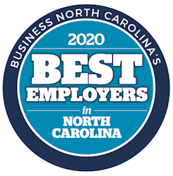 JPS Named a 2020 Best Employers in North Carolina