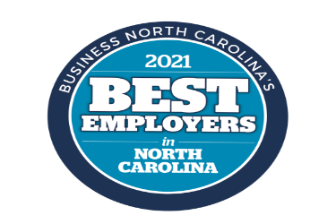 JPS Named One of 2021 Best Employers in NC