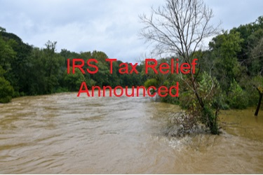IRS provides tax relief for N.C. victims of Tropical Storm Fred