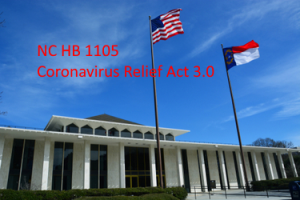 NC HB 1105 - The Coronavirus Relief Act 3.0 Highlights by JPS CPA September 15,2020